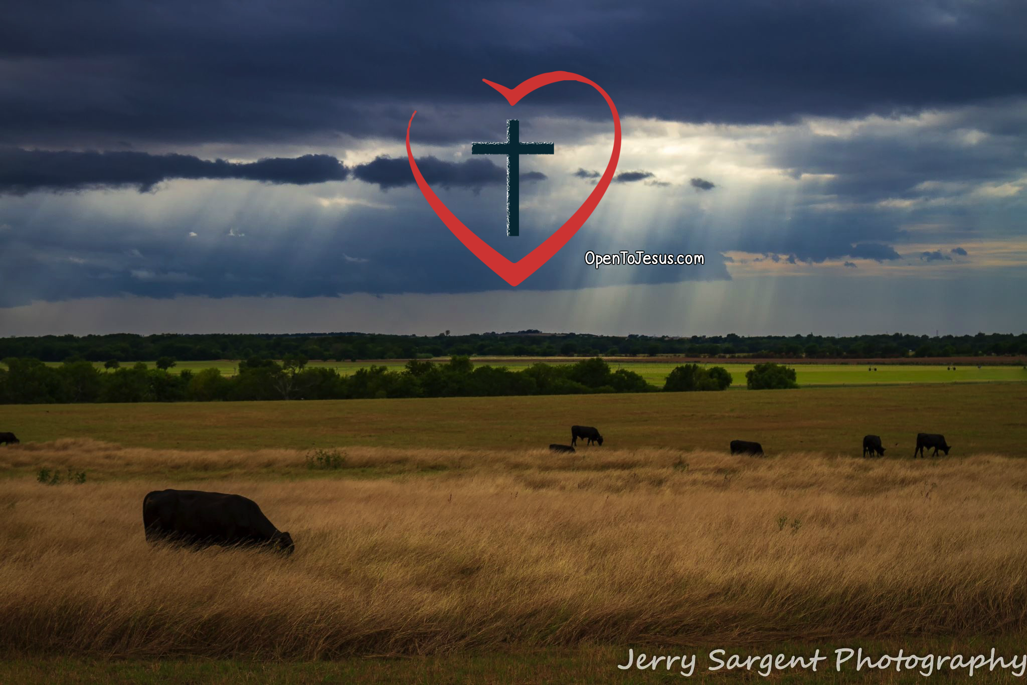 Jerry Sargent Photography / Sunbeams from Heaven